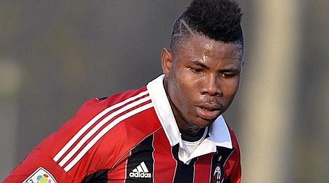 Ezekiel Henty Milan primavera calcio