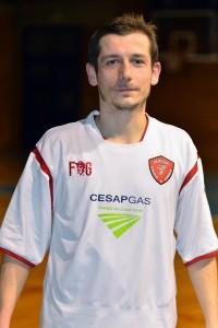 Luca Chiocchini, autore di 3 dei 6 gol messi a segno dal Perugia.