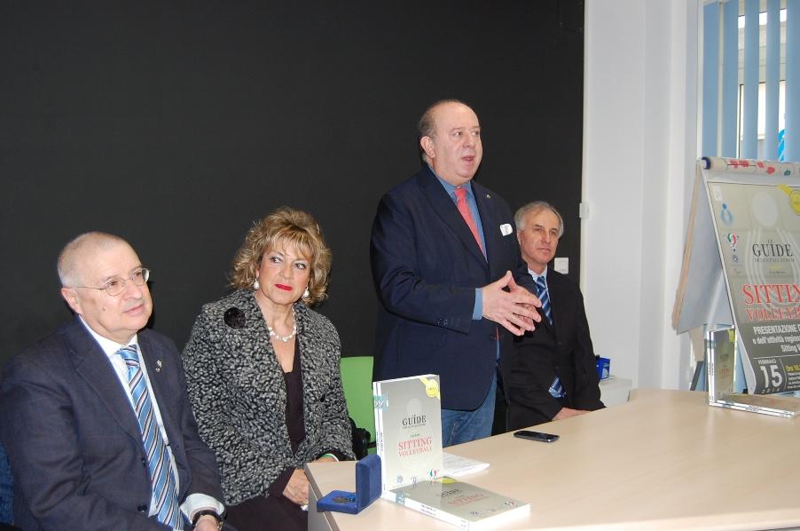 Ilio Liberati, Antonella Piccotti, Giuseppe Lomurno, Luigi Bertini