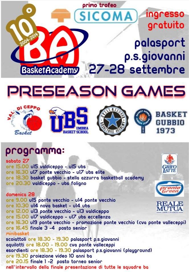bapreseason 2014-15