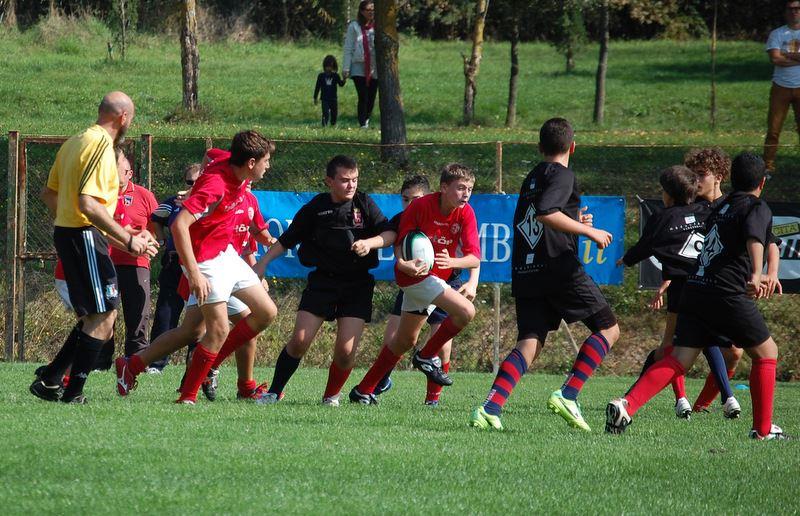 Barton Cus Perugia Under 14 azione 7