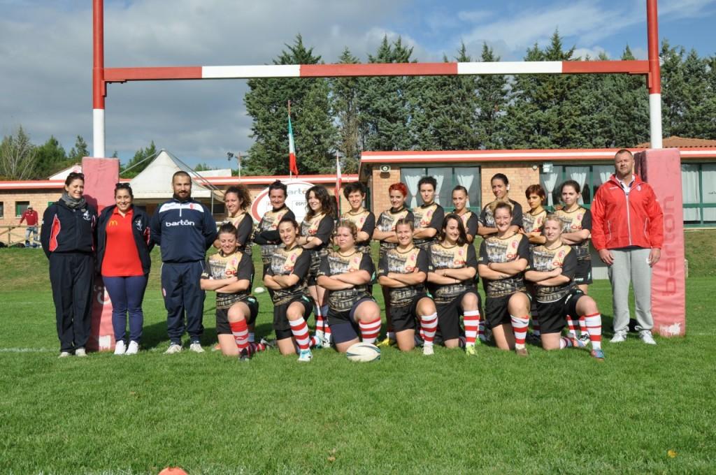 Barton Cus Perugia Ragazze squadra
