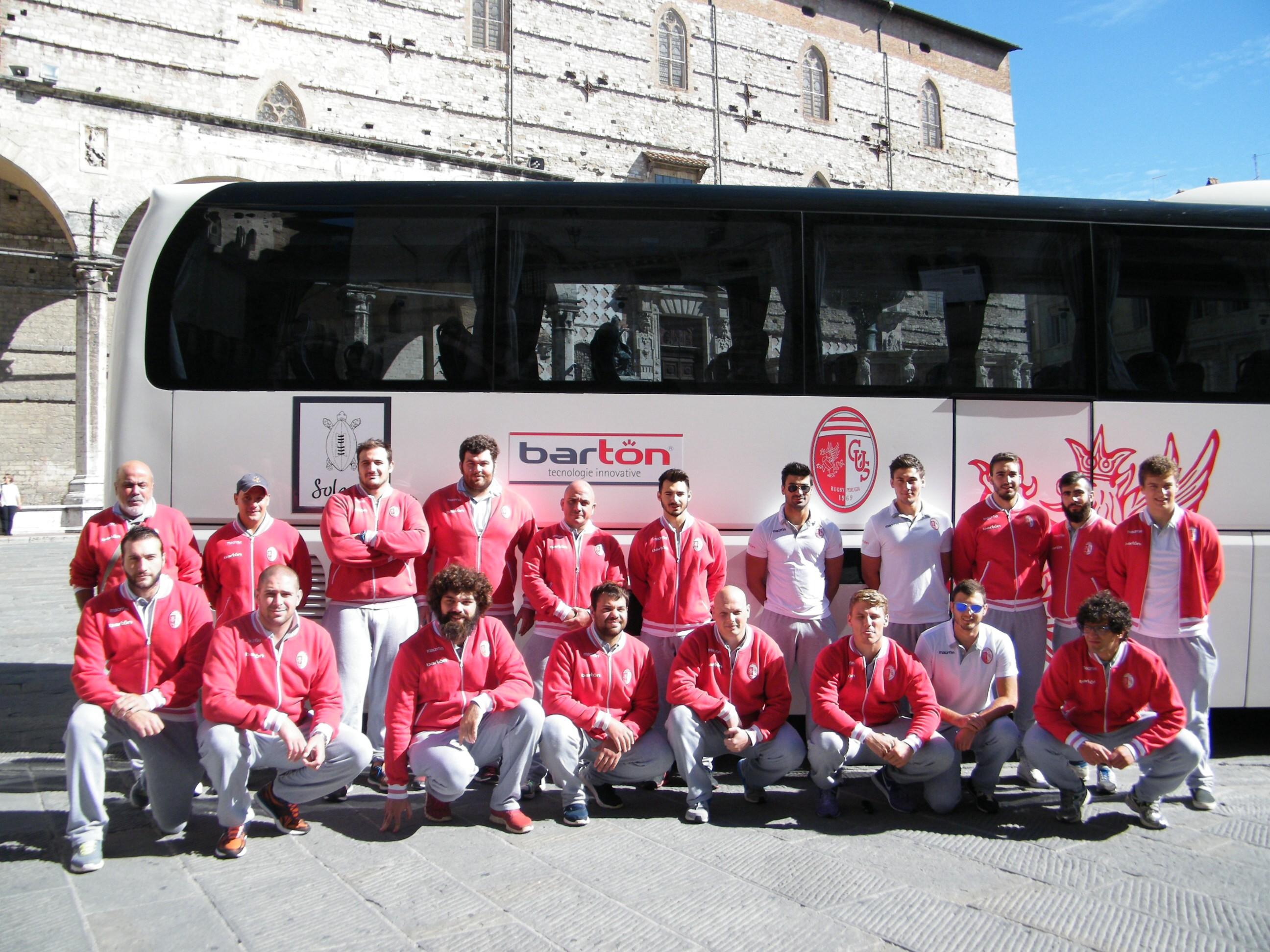 Barton Cus Perugia bus