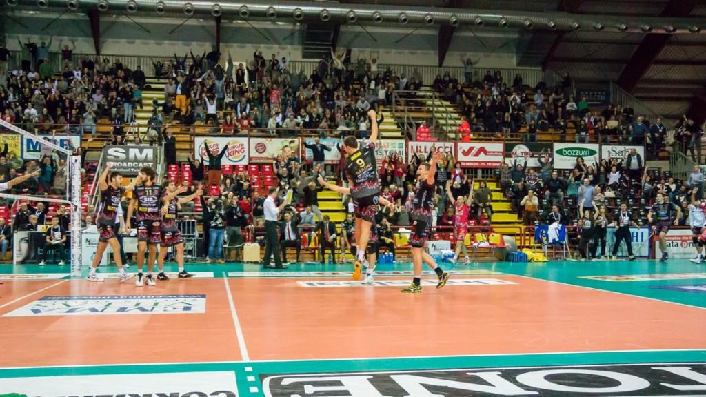 Perugia, esulta per la vittoria