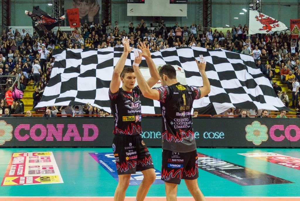 1ª Giornata ritorno, 70º Campionato Serie A1 SuperLega UnipolSai 2014/15. PalaEvangelisti Perugia, 03.01.2015