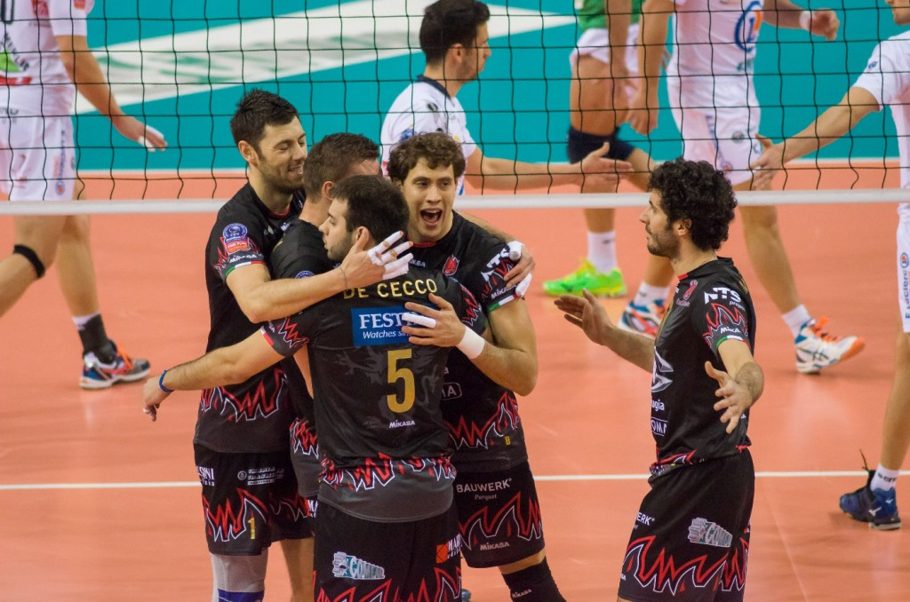5th Leg Pool G 2015 CEV DenizBank Volleyball Champions League, Palasport Evangelisti Perugia IT, 22.01.2015