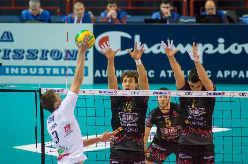 5th Leg Pool G 2015 CEV DenizBank Volleyball Champions League, Palasport Evangelisti Perugia IT, 22.01.2015