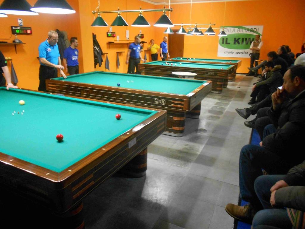 BILIARDO: sala biliardi il KIWI. Sport e solidarietà  tifogrifo.com