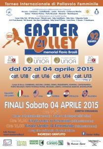 Easter Volley 2015 - Locandina