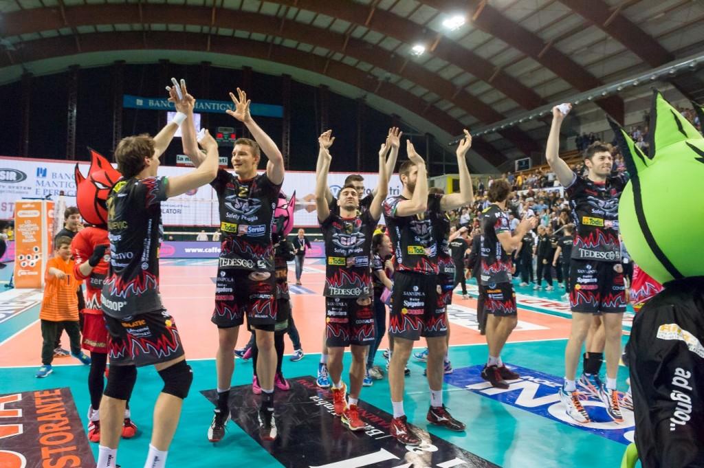 Gara 3 Quarti PlayOff, 70º Campionato Serie A1 SuperLega UnipolSai 2014/15. PalaEvangelisti Perugia, 22.04.2015