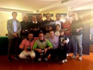 Foto di gruppo dei vincitori Coppa Gioielleria Bartoccini Fidela gioielli