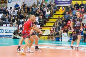1ª giornata Campionato Italiano di pallavolo maschile Serie A1 SuperLega UnipolSai 2015/16. PalaEvangelisti Perugia, 25.10.2015