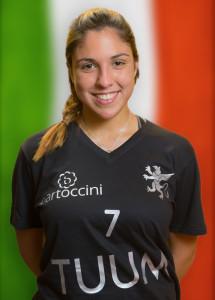 Palleggiatrice | 1997 | TUUM Perugia • Campionato Pallavolo Femminile Serie B1 2015/16