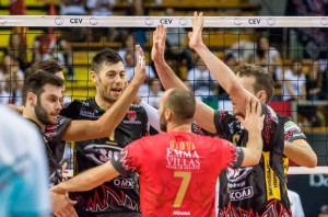 16th Final - Home match. 2016 CEV Volleyball Cup - Men. PalaEvangelisti Perugia IT, 04.11.2015