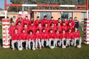 Barton rugby Perugia Under 14 formazione, foto Carlo Crotti