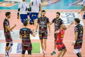 Gara 2 Quarti di Finale Play off Campionato Italiano di pallavolo maschile Serie A1 SuperLega UnipolSai 2015/16. PalaEvangelisti Perugia, 13.03.2016