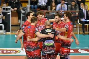 22ª giornata Campionato Italiano di pallavolo maschile Serie A1 SuperLega UnipolSai 2015/16. PalaEvangelisti Perugia, 06.03.2016