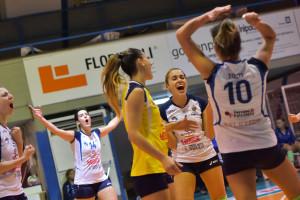 5ª giornata, campionato italiano di pallavolo femminile Serie B2 girone F. Pala Giontella Bastia Umbra, 14.11.2015