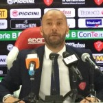 """Latina Perugia 2 – 2, Bucchi """"tutti allo stadio per andare a giocarci i play off"""""""