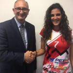 Pallavolo Perugia piazza il primo colpo: Arianna Cicogna