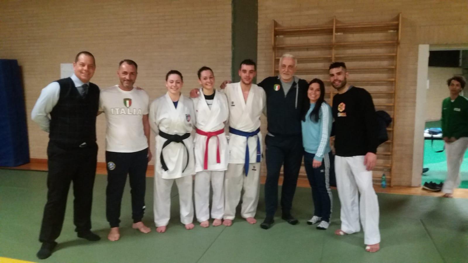 Fijlkam Karate Calendario Gare 2020.Tre Diamanti Umbri Al 1 Olympic Training Camp Di Karate