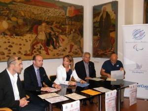 da sx Claudio Cecchetti, Riccardo Coletti, Carla Casciari, Francesco Emanuele, Nicola Bazzucchini 1